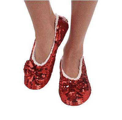 Women's Sequin Slippers