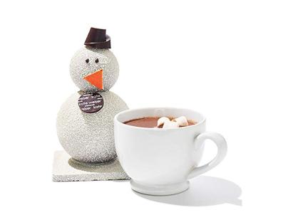Drinking Chocolate Snowman