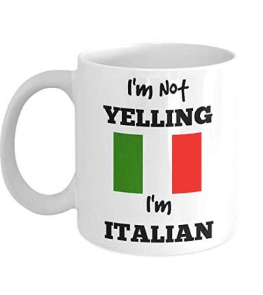 I'm Italian Mug