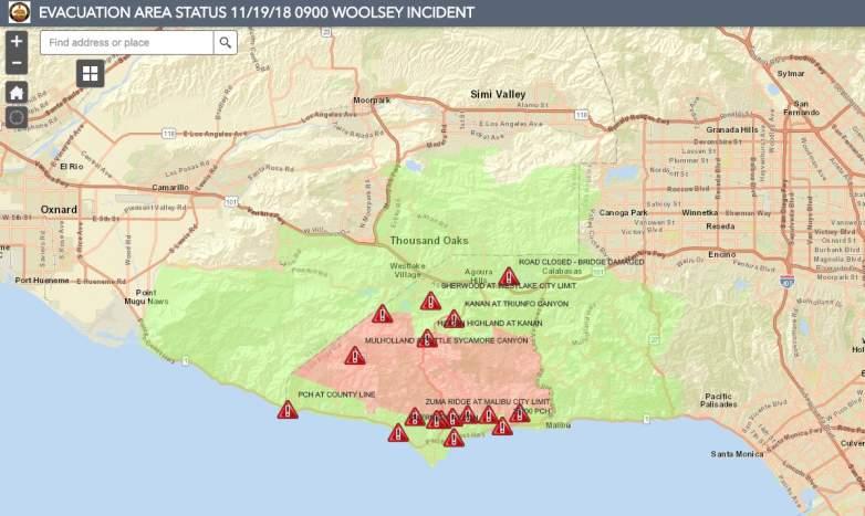 Woolsey Evacuations