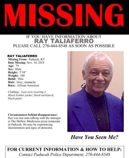 Ray Taliaferro Missing