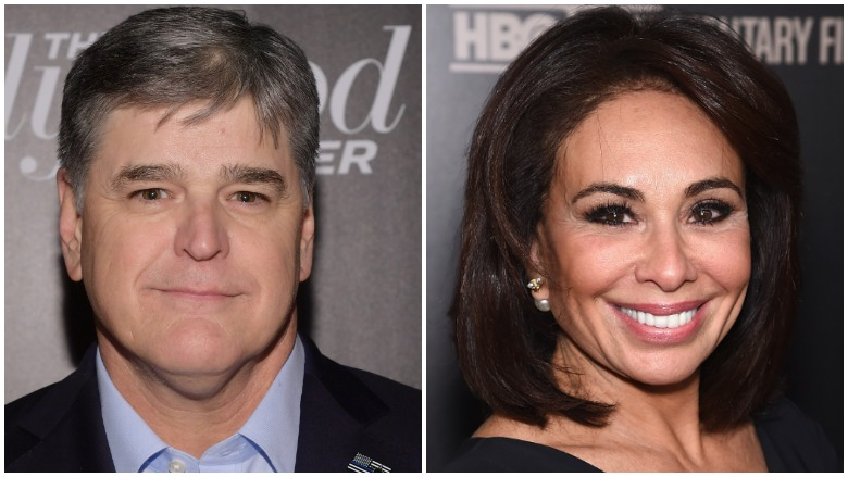 Sean Hannity and Jeanine Pirro
