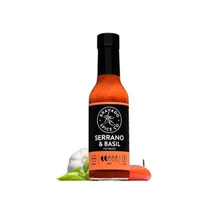 Serrano & Basil Hot Sauce