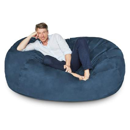 six foot bean bag chair