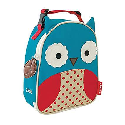 owl toddler insulated lunch backpack
