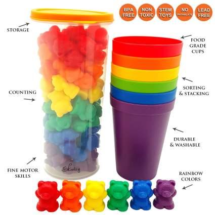 skoolzy rainbow countin gbears