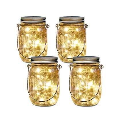 mason jar solar light set