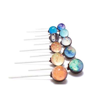 Sparko Sweets space lollipops astronomy gifts