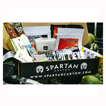 fitness monthly gift box