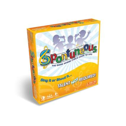 Spontuneous adult board game