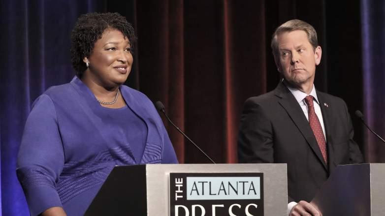 Stacey Abrams Brian Kemp debate