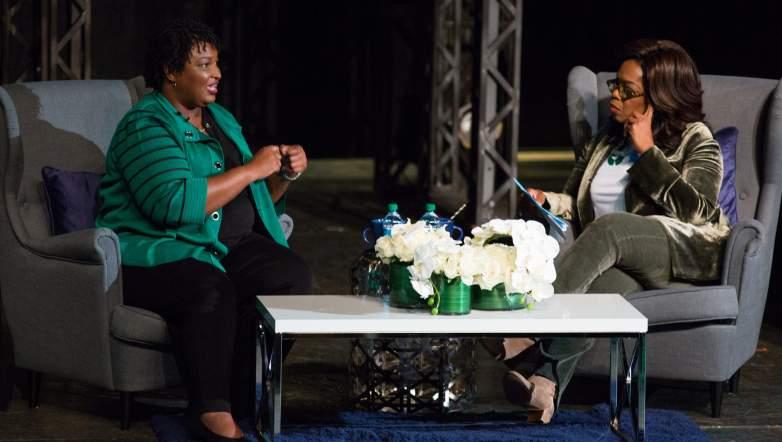 Stacey Abrams Oprah Winfrey