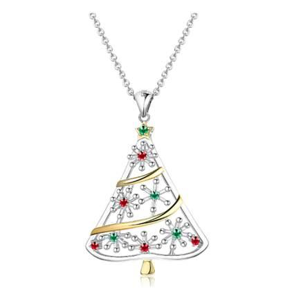 sterling silver christmas tree pendant