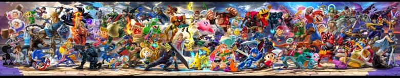 Super Smash Bros Ultimate Roster