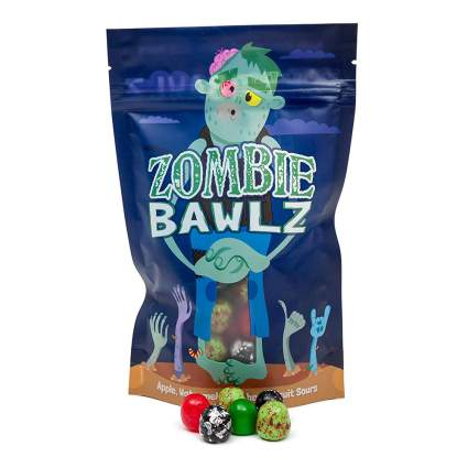 Zombie candy balls