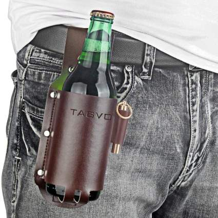 Tagvo Leather Beer Holster