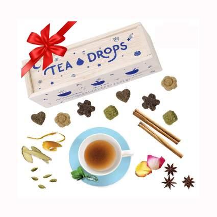 instant organic pressed tea