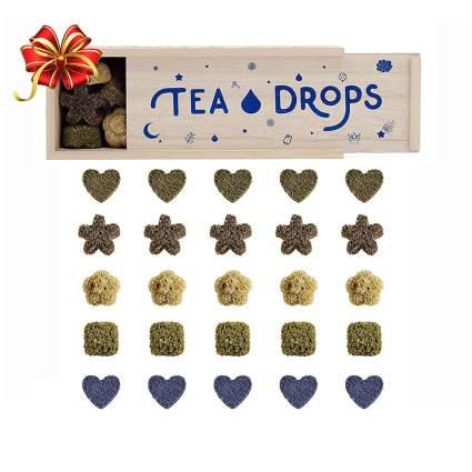 organic pressed teas