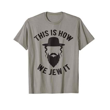 this is how we jew it tshirt funny hanukkah