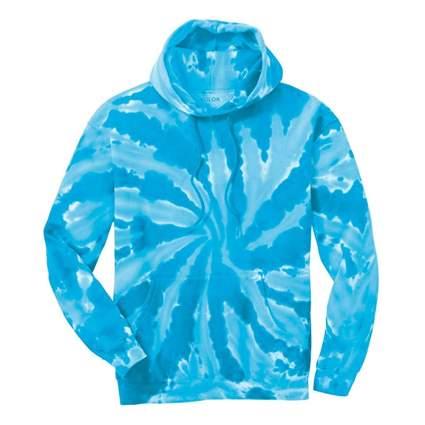 men's tie dye hoodie