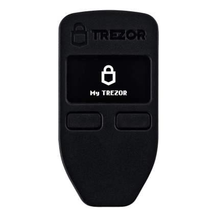 trezor one bitcoin wallet