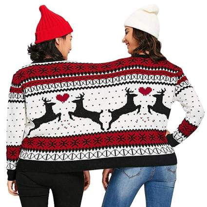 two person christmas sweater