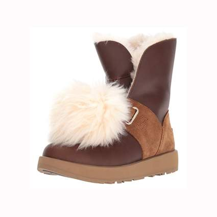 Ugg sheepskin and leather winter boots