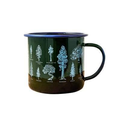 united by blue camp mug