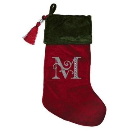 monogram stocking