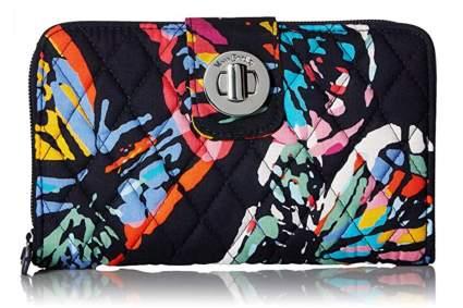 Vera Bradley RFID Cotton Wallet