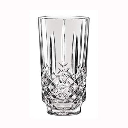 cut crystalline vase