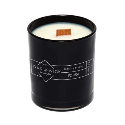 Wax & Wick Forest Scented Soy Candle