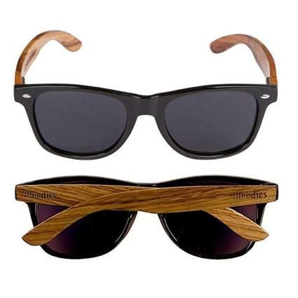 wooden wayyfarer sunglasses