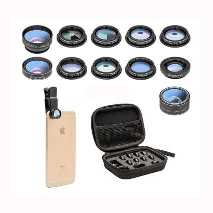 11 piece smartphone camera lens kit