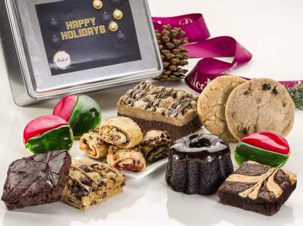 Cookie and Chocolate Brownie Party Gift Tin