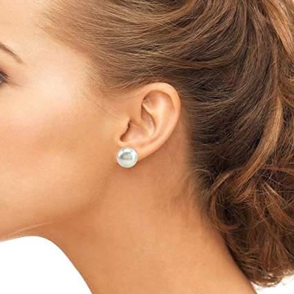 Freshwater Cultured Pearl Earrings for Women