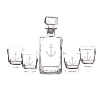 anchor decanter set