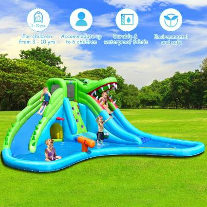 Costzon Inflatable Water Park