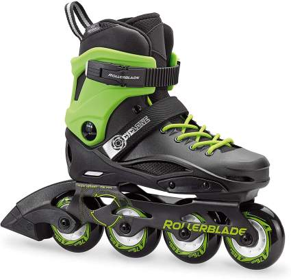 Rollerblade Cyclone Kid's Unisex Size Adjustable Inline Skate