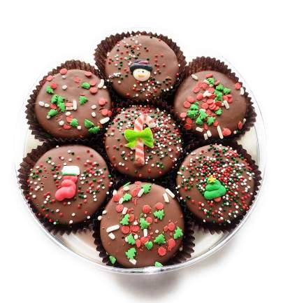 Olde Naples Christmas Chocolate Dipped Oreo Cookies