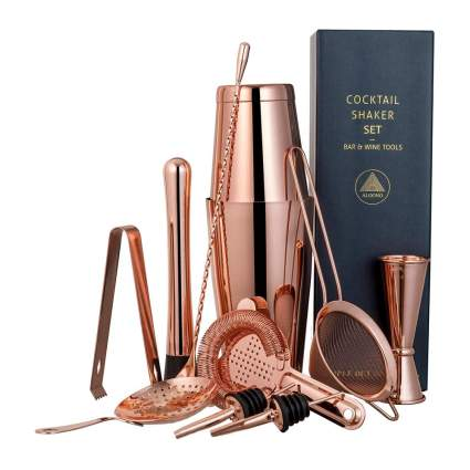 Copper metal bar set