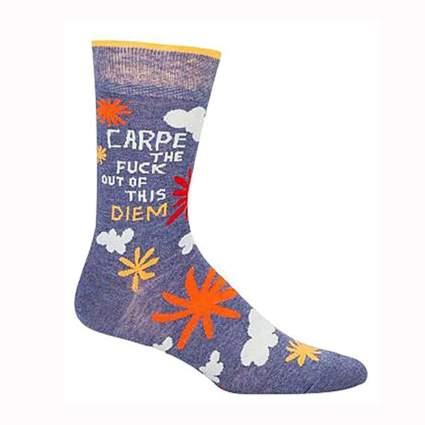 printed men's funny socks