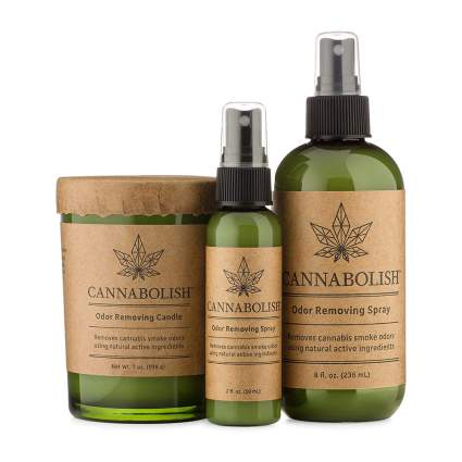 Cannabolish candle set