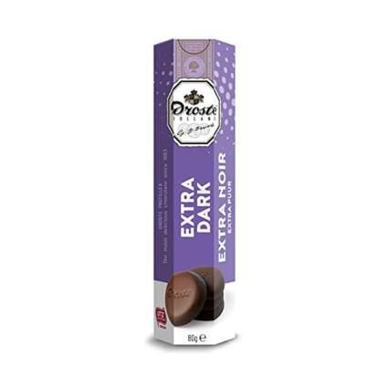 dark chocolate pastilles