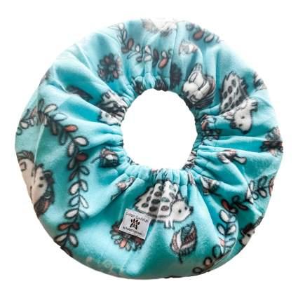 Light blue hedgehog scarf