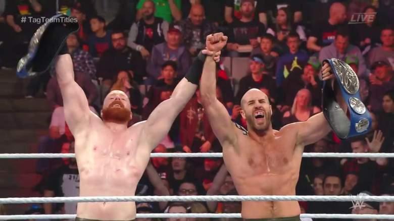 WWE tLC Sheamus Cesaro