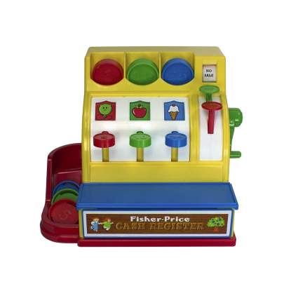 Fisher Price cash register retro toys