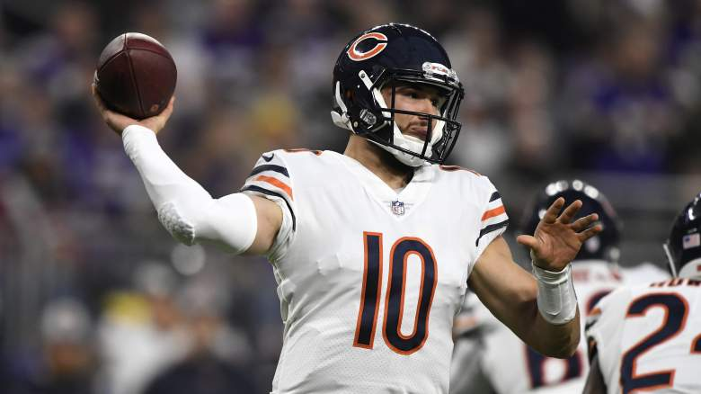 Mitchell Trubisky Bears Training Camp