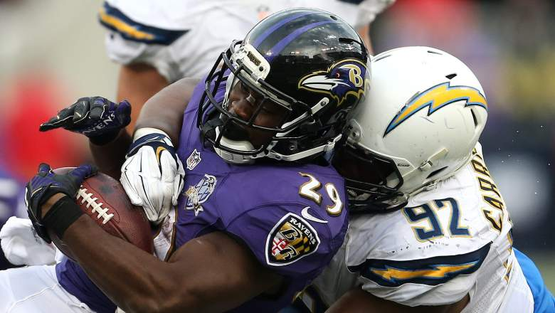 afc playoff picture ravens chargers