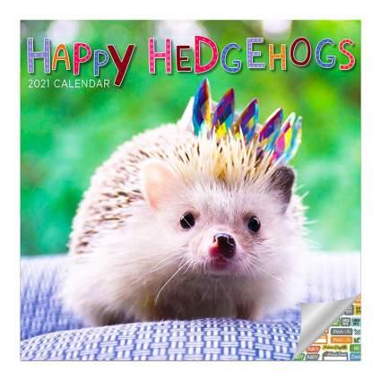 Happy Hedgehogs calendar